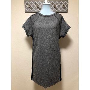 Madewell Panorama Knit Dress Zipper Side, Size S